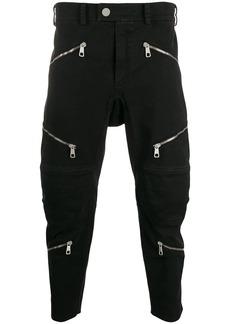 Neil Barrett Motorcross multi-zip trousers