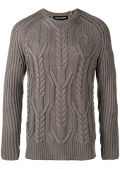 Neil Barrett multi-knit crew neck sweater