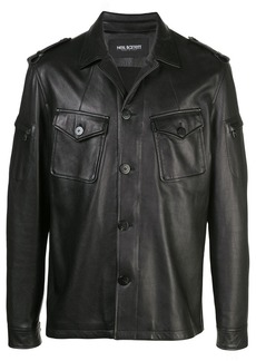 Neil Barrett nappa shirt jacket
