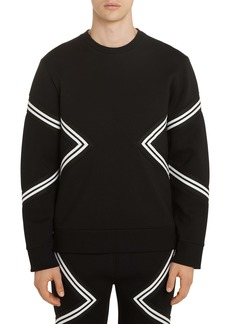 Neil Barrett Band Trimmed Sweatshirt