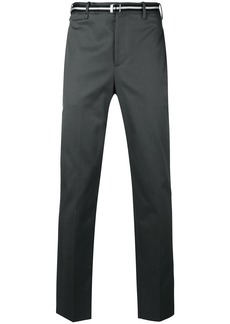 Neil Barrett belted tailored trousers