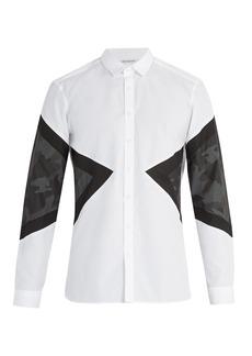 Neil Barrett Camouflage cotton shirt