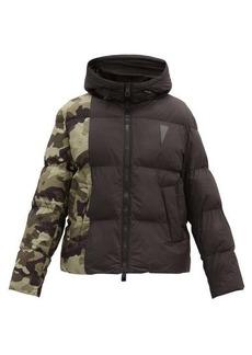 Neil Barrett Camouflage-panelled padded jacket
