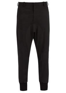 Neil Barrett Camouflage stretch-wool track pants