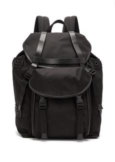 Neil Barrett Classic nylon backpack