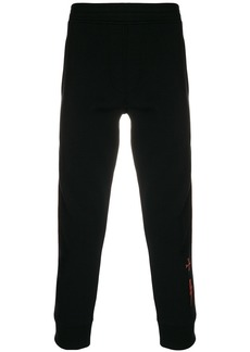 Neil Barrett contrast-piped track pants
