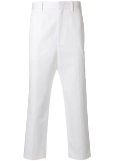 Neil Barrett contrasting side panel trousers
