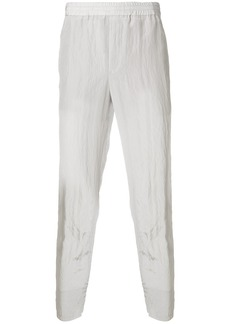 Neil Barrett creased tapered trousers