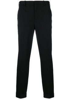 Neil Barrett cropped tailored trousers - Black