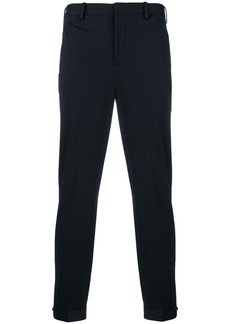 Neil Barrett cropped tailored trousers - Blue