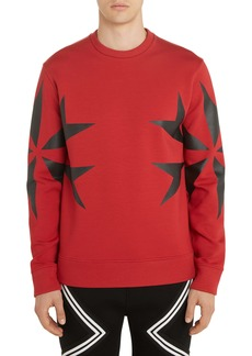 Neil Barrett Cross Graphic Sweatshirt