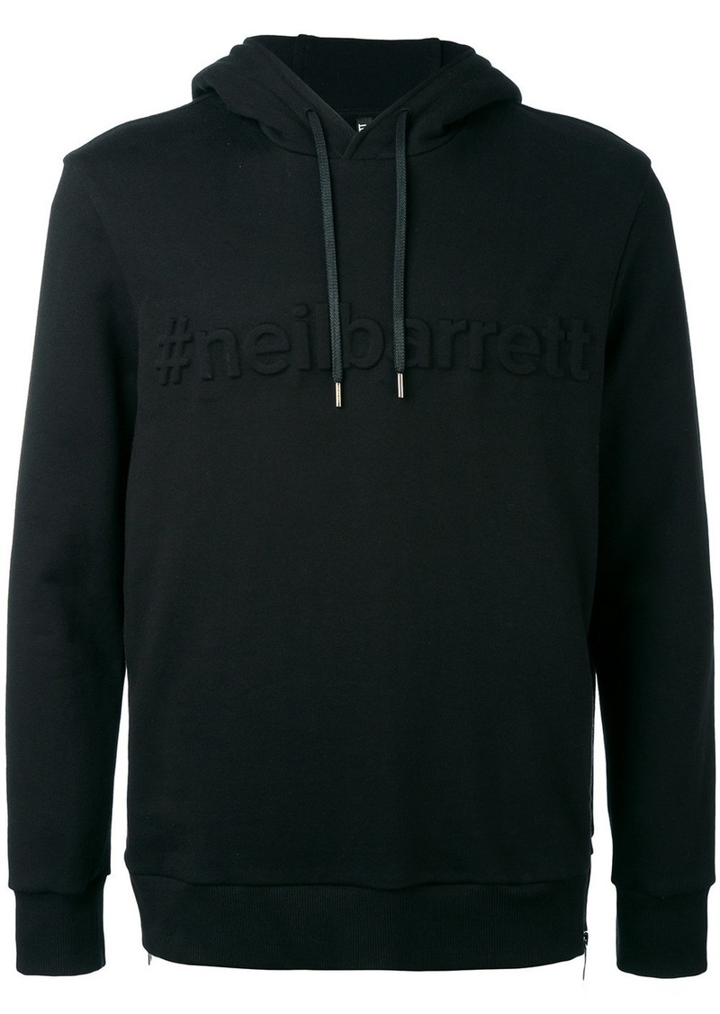 Neil Barrett embossed sweatshirt