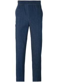 Neil Barrett high waist skinny trousers