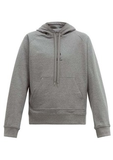 Neil Barrett Logo-print cotton hooded sweatshirt