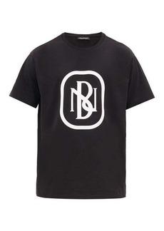 Neil Barrett Logo-print cotton-jersey T-shirt