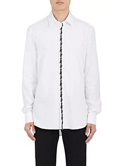 Neil Barrett Men's Bolt-Print Cotton Shirt