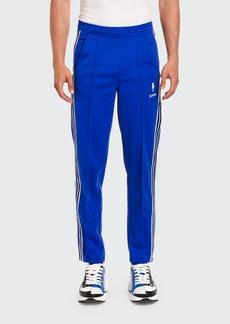Neil Barrett Men's Side-Stripe Jogger Pants