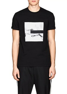 Neil Barrett Men's Splash-Graphic Cotton T-Shirt