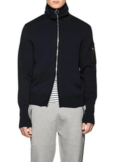 Neil Barrett Men's Tech-Knit Cardigan