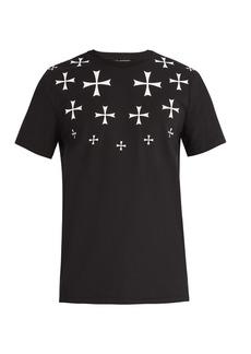 Neil Barrett Military Star cotton-blend T-shirt