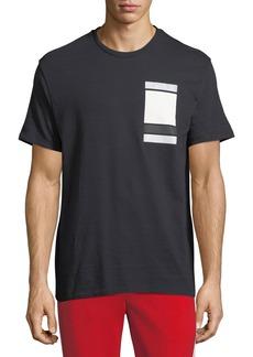 Neil Barrett Minimalist Cubes Cotton T-Shirt