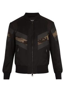 Neil Barrett Modernist bomber jacket