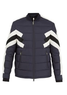 Neil Barrett Modernist quilted ski jacket