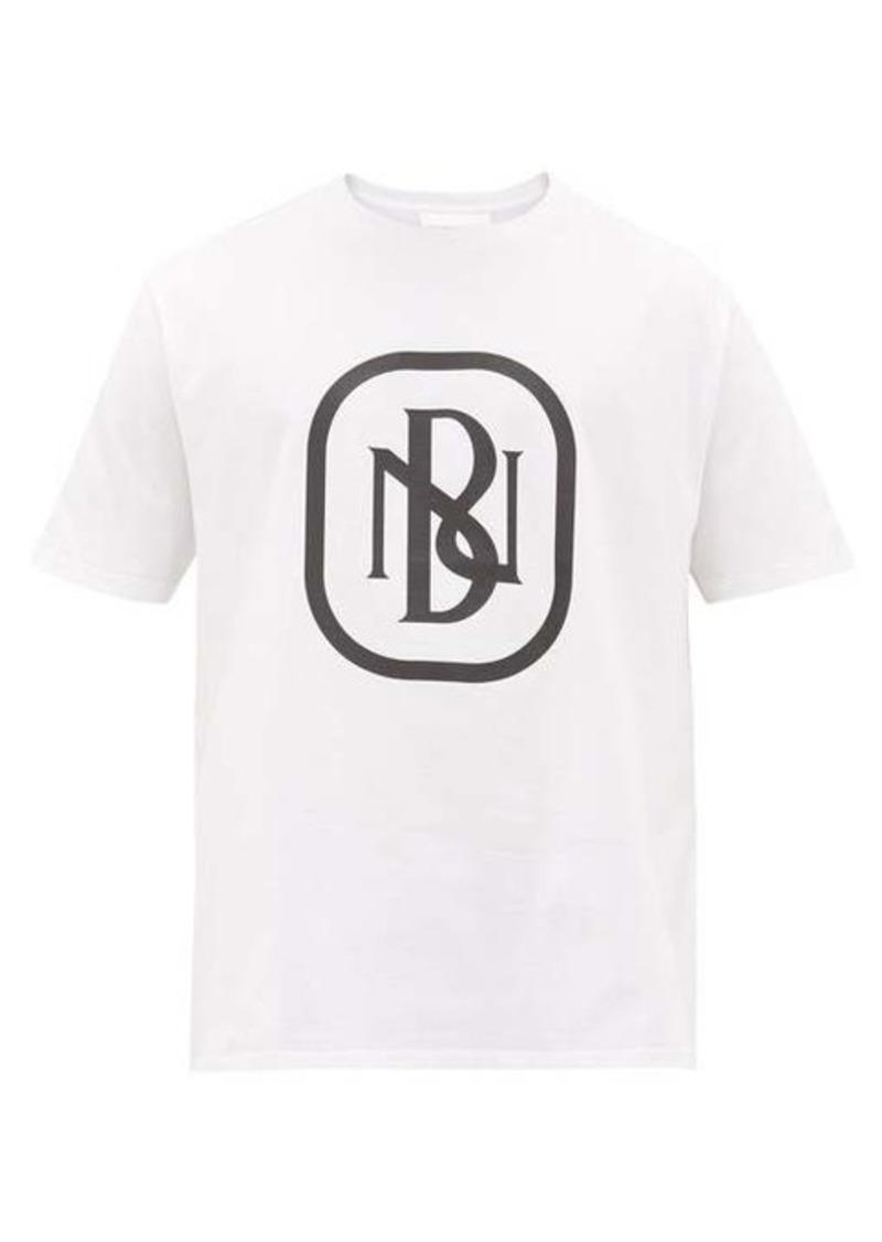 Neil Barrett NB logo-print cotton T-shirt