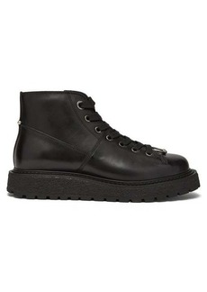 Neil Barrett Piercing lace-up leather boots