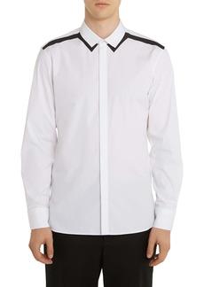 Neil Barrett Poplin Button-Up Shirt