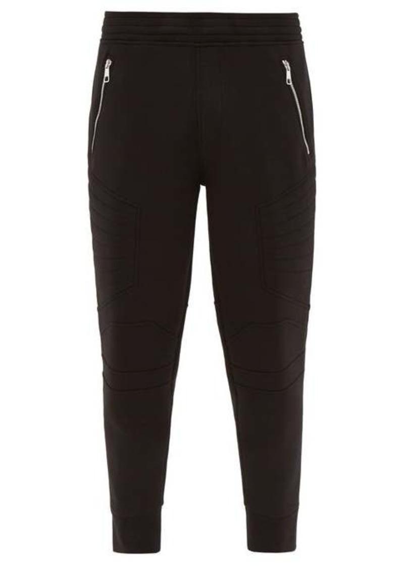 Neil Barrett Quilted neoprene-jersey track pants
