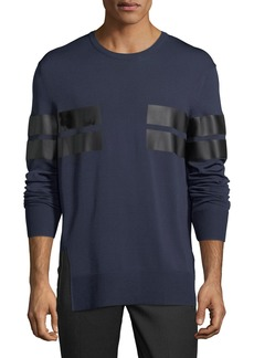 Neil Barrett Reflective Stripe Long-Sleeve T-Shirt