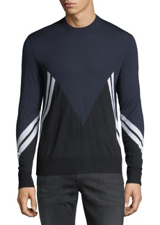 Neil Barrett Retro Modernist Wool Sweater