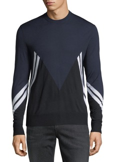 Neil Barrett Retro Modernist Wool Sweater