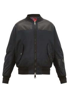 Neil Barrett Reversible City Lights shell bomber jacket