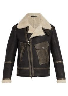 Neil Barrett Shearling leather jacket