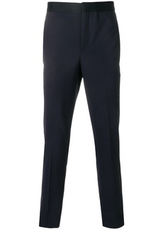 Neil Barrett side panel straight tailored trousers