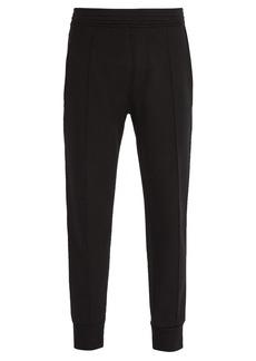 Neil Barrett Side-stripe jersey track pants