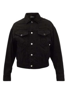 Neil Barrett Slayde-appliqué denim jacket