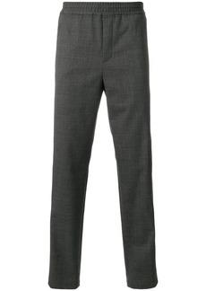 Neil Barrett stripe detail elasticated trousers