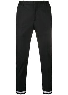 Neil Barrett striped cuff trousers