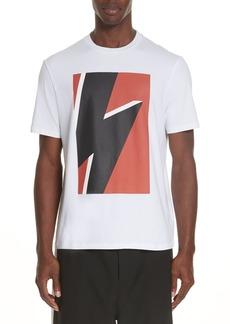 Neil Barrett Thunderbolt Flash Graphic T-Shirt