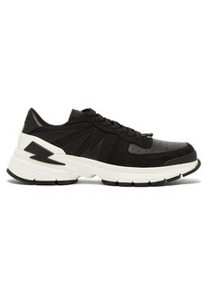 Neil Barrett Tiger bolt low-top trainers