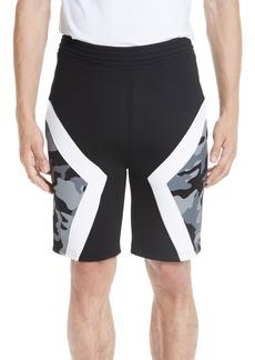 Neil Barrett Two-Tone Military Shorts