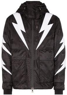 Neil Barrett padded Tigerbolt jacket