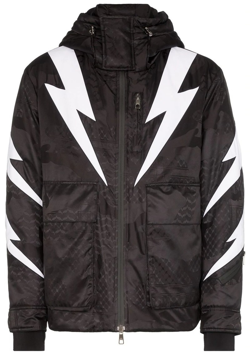 Neil Barrett padded Tigerbolt jacket