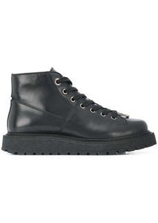 Neil Barrett pierced hiking boots