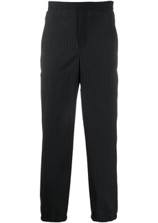 Neil Barrett pinstriped straight-leg trousers