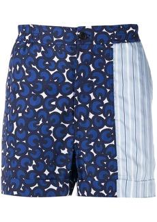 Neil Barrett printed bermuda shorts