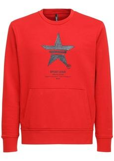 Neil Barrett Printed Cotton Blend Sweatshirt